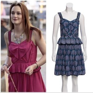 Marc Jacobs bow front chiffon dress 4